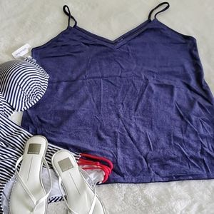 Old Navy Velour Tank Top Size L